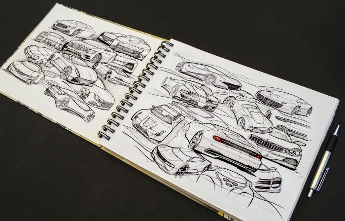 Sketches by Ryan Nguyen at Coroflot.com