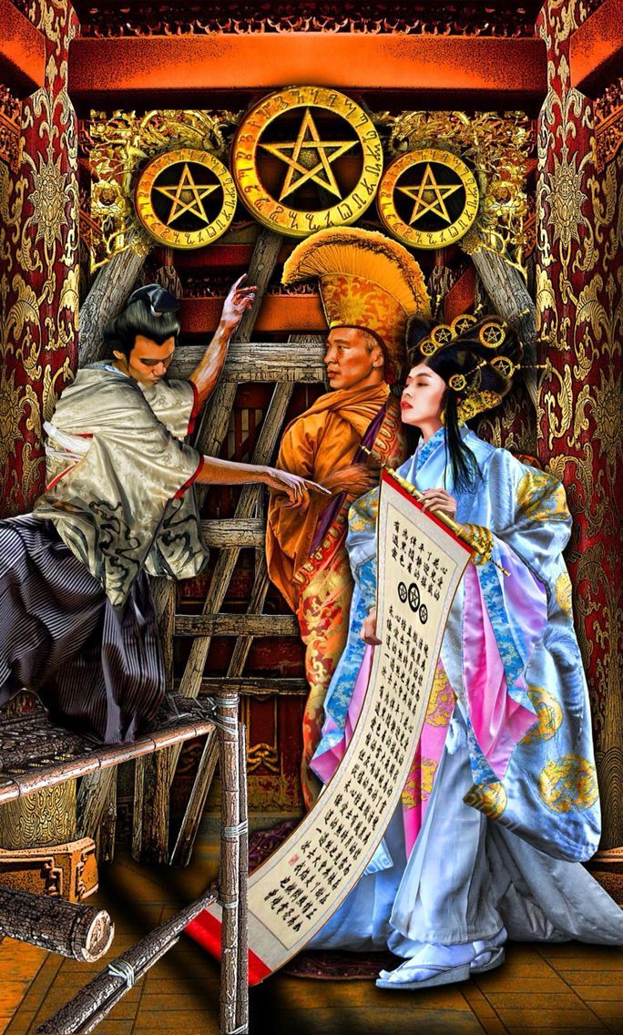 The Pentacles Suit Tarot Cards Meanings In Readings: 584 Best Tarot Art - Pentacles Images On Pinterest