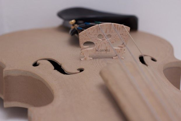 Violon Stradivarius imprimé en 3D par EOS