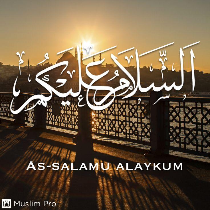 As-salamu alaykum #muslimpro http://get.muslimpro.com