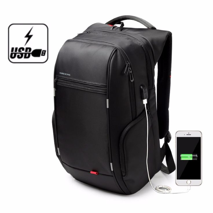Kingsons Brand Antitheft Notebook Backpack 15.6 inch Waterproof Laptop Backpack for Men Women External USB Charge Computer Bag -  http://mixre.com/kingsons-brand-antitheft-notebook-backpack-15-6-inch-waterproof-laptop-backpack-for-men-women-external-usb-charge-computer-bag/  #Backpacks