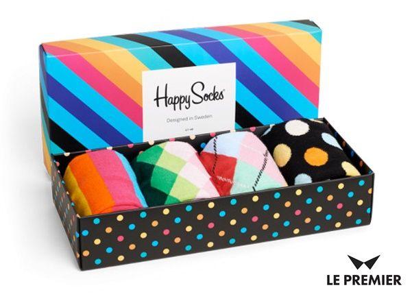 3 grudnia = 3 pomysł na prezent. Tym razem zestaw @happysofficial składający się z 4 par kolorowych męskich skarpetek! Idealne dla przełamującego stereotypy mężczyzny! Do kupienia na www.le-premier.pl  #lepremier #pomyslnaprezent