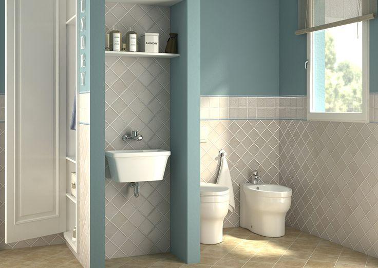 Bagno lavanderia con guardaroba una soluzione per la - Sanitari bagno leroy merlin ...