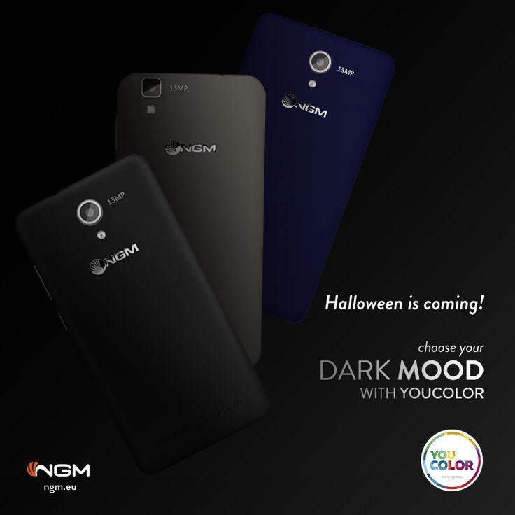 Black, Titanium o Dark Blue? Halloween si avvicina, scegli il tuo #DarkStyle con le #suitCover colorate per personalizzare il tuo smartphone #YouColor