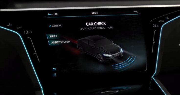VW GTE Concept 2015