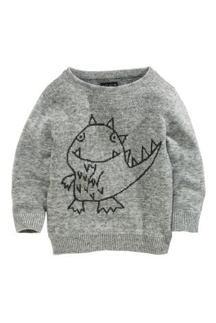 Buy Dino Crew Neck (3mths-6yrs) online today at Next: Canada
