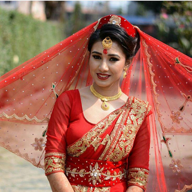 A very special nepali wedding dresses
