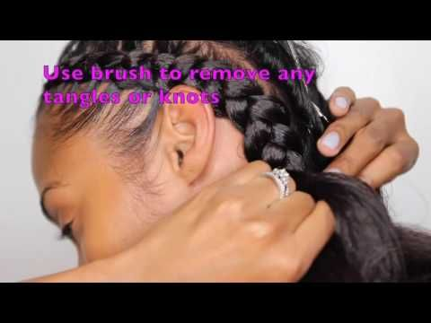 Easy Feed In Braids With Kersti Pitre - Emily CottonTop