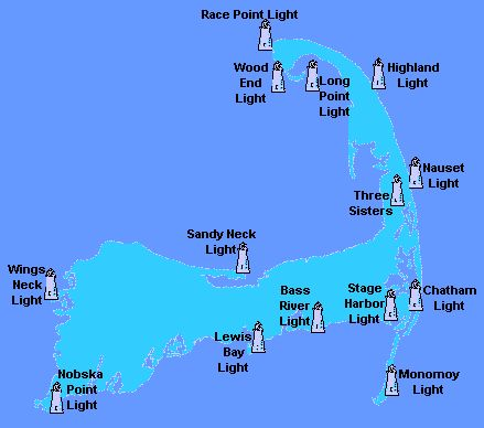 @guidebookcapecod thinks this is a great resource... Map of the lighthouses of Cape Cod.