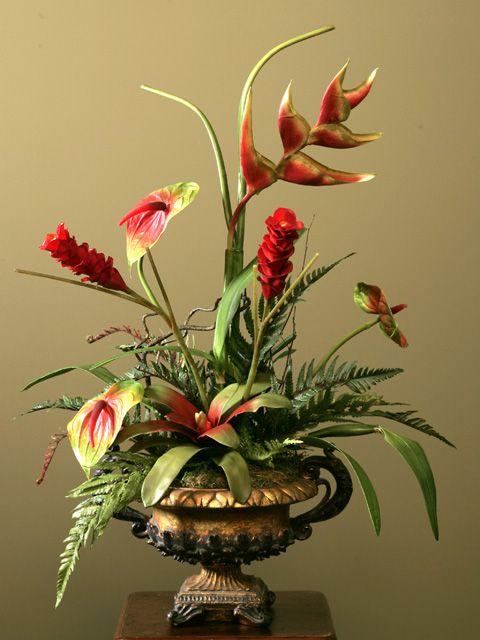 197 best silk flower arrangements images on pinterest flower silk christmas arrangements silk floral arrangements silk flower design tina hebert mightylinksfo Gallery