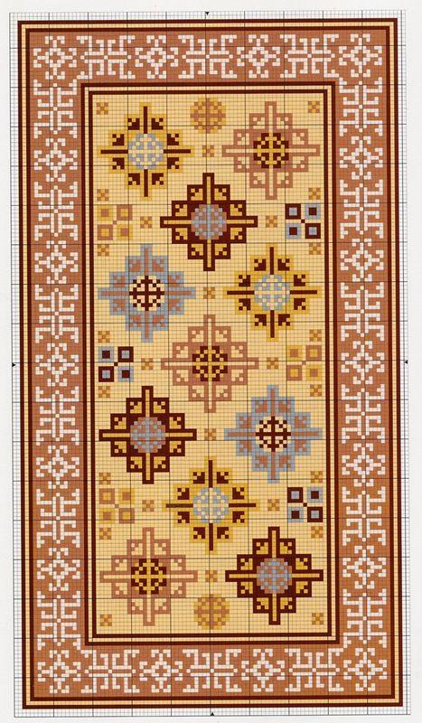 Meik McNaughton, Ian McNaughton Making Miniature Oriental Rugs & Carpets
