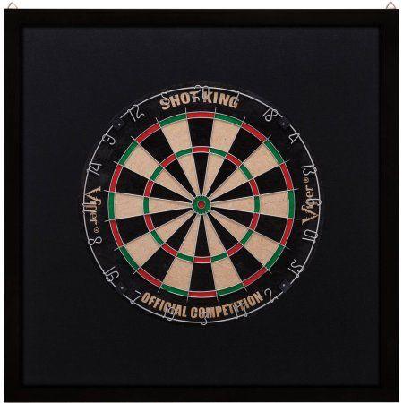 Viper Dartboard Surround, Black