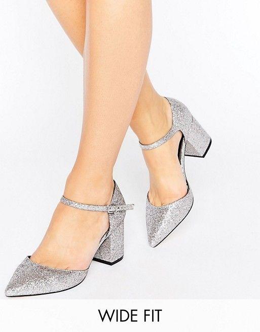 modelos de Zapatos de Tacon bajo para Fiesta