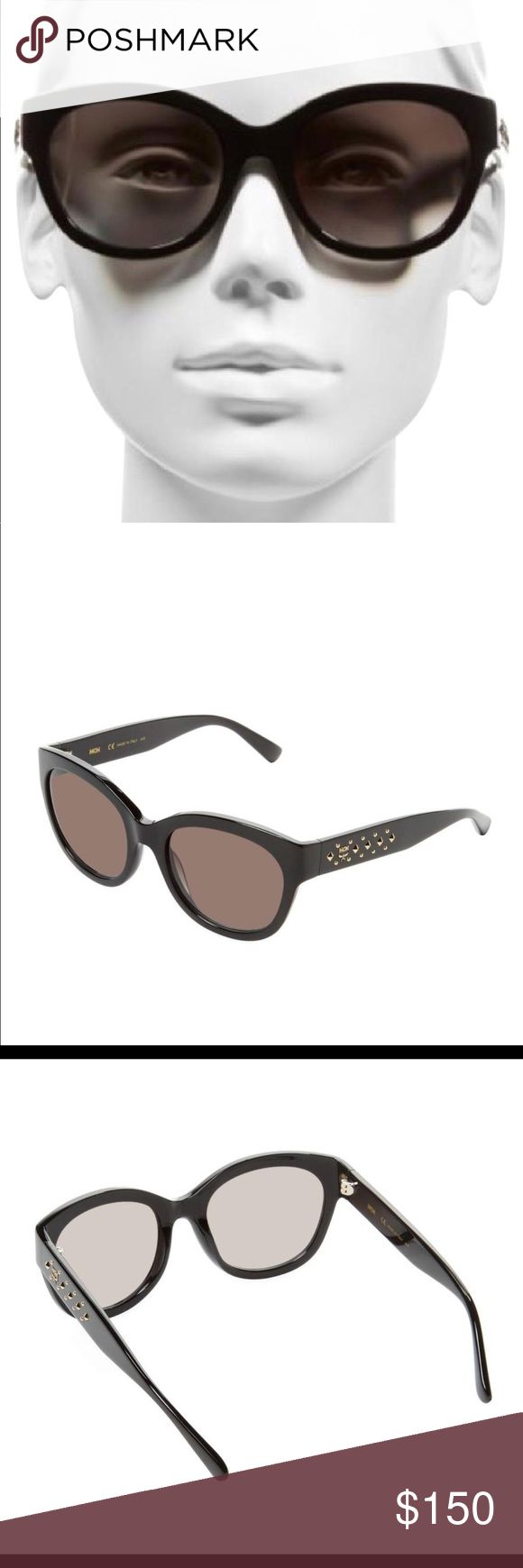 MCM Studded Oval Woman's Sunglass New Case Cloth New from MCM MCM Accessories Sunglasses