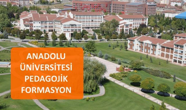 Anadolu Üniveritesi Formasyon