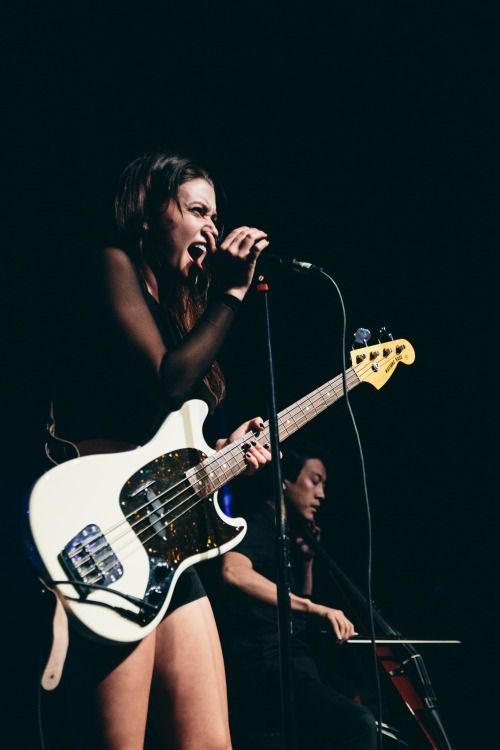 Meg Myers..  Seeing her live was just amazing!