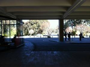 david myers building - bus stop