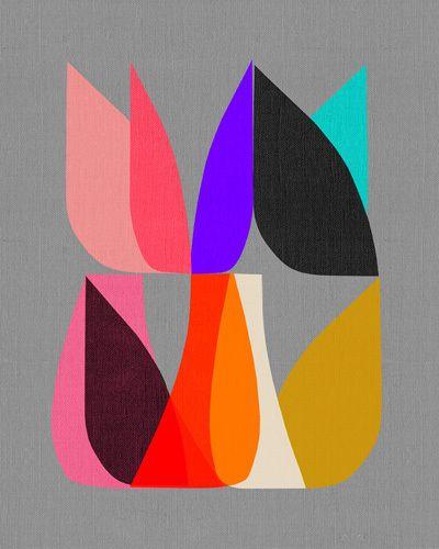 Blossom II - Inaluxe Prints - Easyart.com