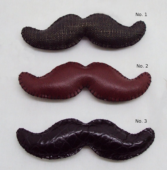 moustache leather key chain keyring men by mouhoxlab on Etsy, $9.00