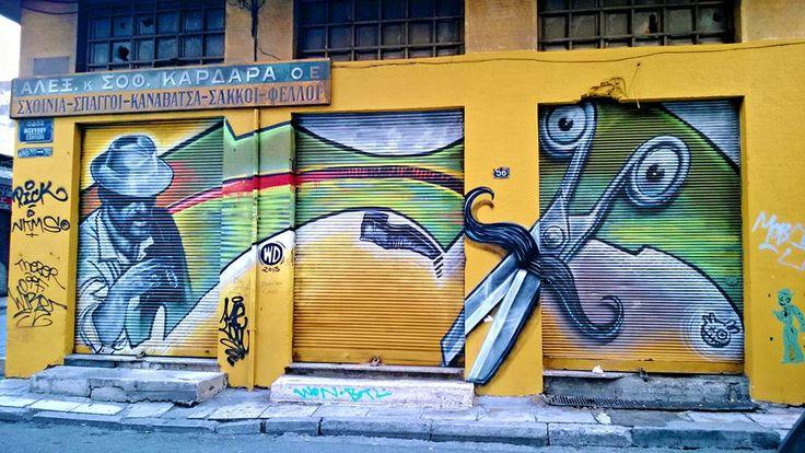 Athens, Greece (Ευρυπίδου & Αισχύλου) via Athensville blog