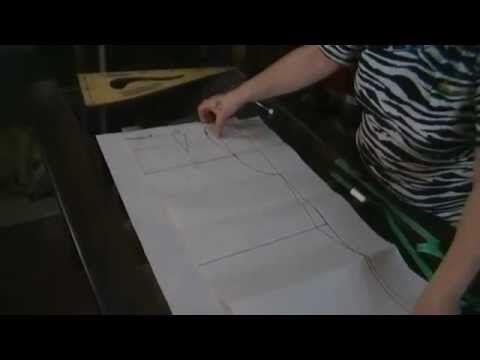 """Como hacer patrones talles grandes """"Peticion"""" - YouTube"""