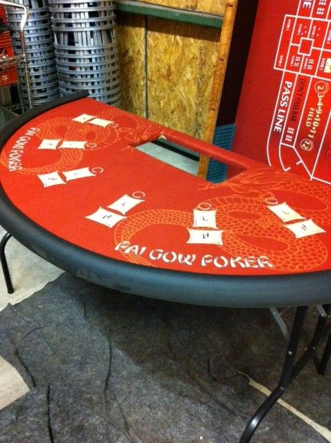 Pai Gow Poker Table! Available for rent! Visit our website for more information, www.eliteevents.com!