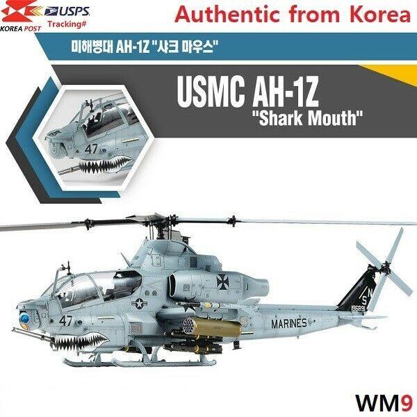 Toys & Hobbies Military Academy 135 USMC AH 1Z Shark Mouth