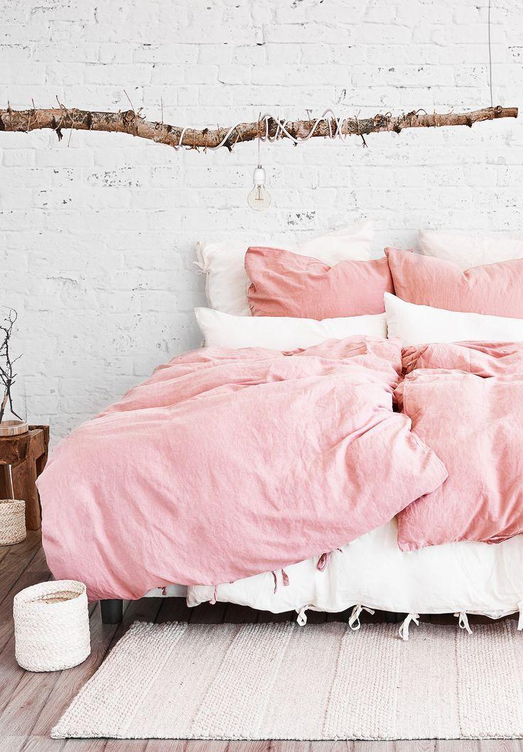 Leinen Bettwasche Marita In 2020 Bettwasche Holzdeko Leinenbettwasche