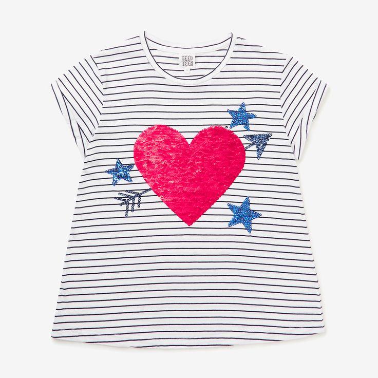 Shop now: Flip Heart Tee. #seedheritage #seedteen