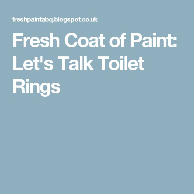 how to clean toilet ring