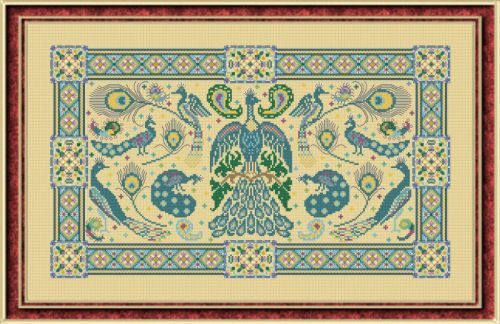PAPILLON CREATIONS Birds of a Feather counted cross stitch