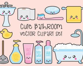 Premium Vector Clipart Kawaii Baby Clipart by LookLookPrettyPaper