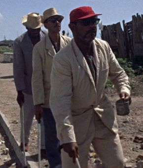 Dr No : les 3 tueurs (faux) aveugles du Dr No ( Eric Coverly, Charles Edghill and Henry Lopez )