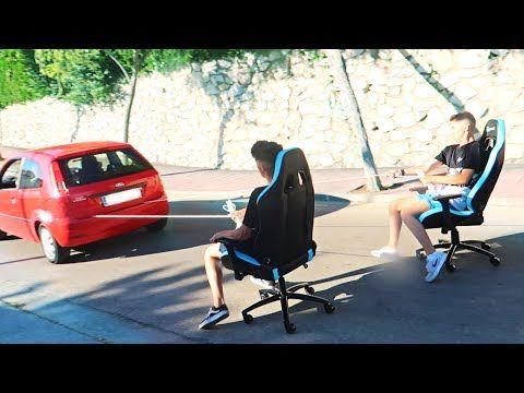 ATAMOS SILLAS GAMING a MI COCHE en MITAD DE LA CALLE!! CARRERAS DE AUTOS LOCOS (Con golpes) [Logan] - VER VÍDEO -> http://quehubocolombia.com/atamos-sillas-gaming-a-mi-coche-en-mitad-de-la-calle-carreras-de-autos-locos-con-golpes-logan    Hoy cogemos y ATAMOS 2 SILLAS GAMING A MI COCHE EN MITAD DE LA CALLE !! Una carrera de autos locos con sillas gaming en mitad de la calle!! LAS MEJORES SILLAS GAMING:  SORTEO SILLA GAMING:  ★Mis Mejores VÍDEOS que TIENES que VER 100%!!