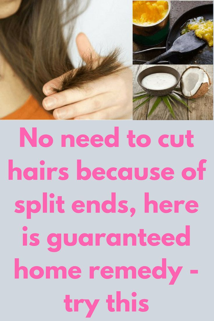 No need to cut hairs because of split ends, here is guaranteed home remedy - try this Today I will share how to get rid of split ends along with dry, dull and damaged hair to get soft, shiny and healthy hair. Repeat this procedure twice in a week. Ingredients you will need – 1 tablespoon of clarified butter (desi ghee) 1 tablespoon of extra virgin coconut oil Method – In a bowl …