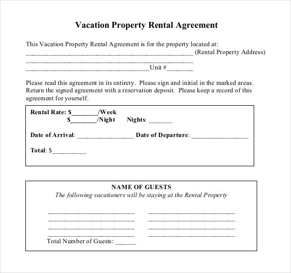 Home Tenancy Agreement Template Uk Tenancy Agreement