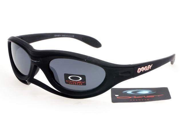 303472068bb Oakley Crankcase Sunglasses Black Frame Gray Lens 0180