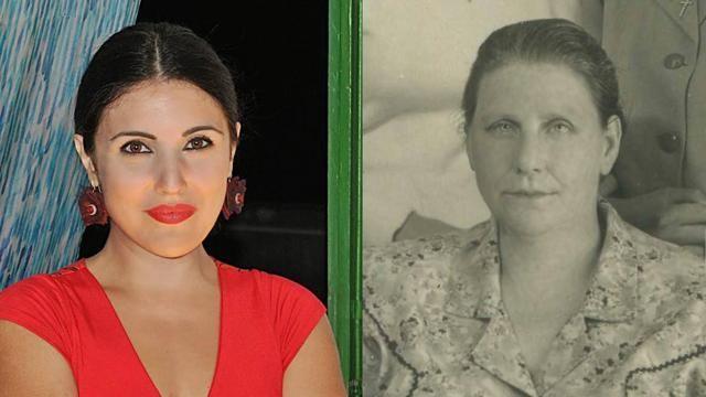 """Su #Facebook """"Io e mia nonna alla stessa età"""""""