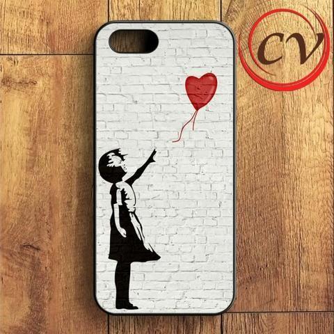 Balloon Girl iPhone SE Case