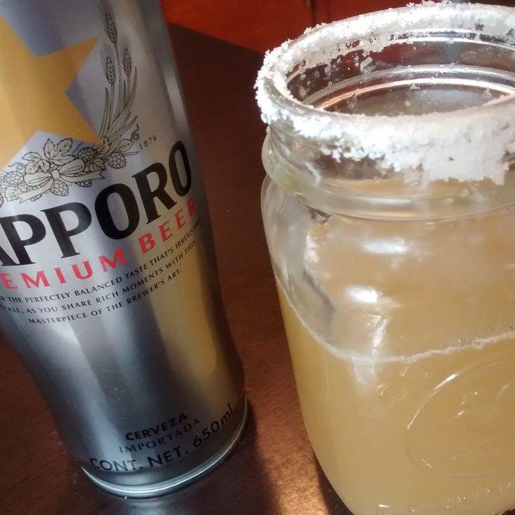 Cerveza Japonesa SAPPORO.