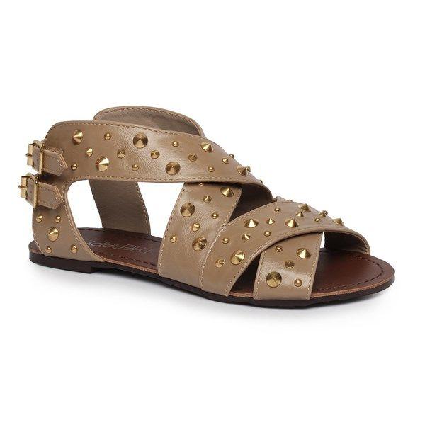Girls' Stud Buckle Sandals - $39.99
