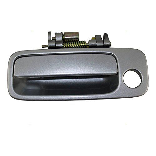 Eynpire 8049 Exterior Outside Outer Silver Replacement Front Left Driver Side Door Handle For 97 01 Toyota Camry 97 98 99 0 Toyota Camry Side Door Door Handles