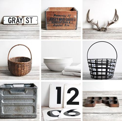 .: Vintage Collection, Inspiration, Good Things, Antlers, Vintage Stuff, Wooden Boxes, Things To Tried, Vintage Industrial, Decor Accessories