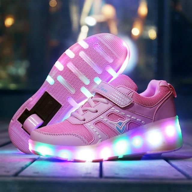 2020 Heelys With 4 Wheels Adidas D Lillard 2 Black Scarlet Black Men's adidas Shoes