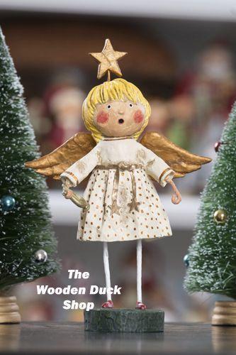 Lori Mitchell - White Angel - Wooden Duck Shop