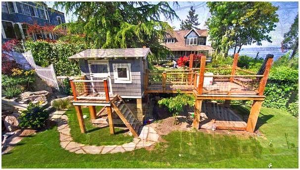 cheap backyard playground ideas
