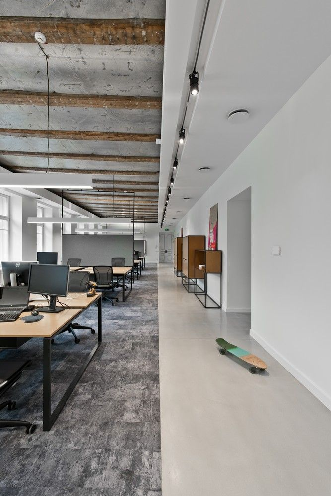 Gallery of Treatwell Office / Plazma Architecture Studio - 8 Open Office Space. Contemporary. Industrial. Office Space Ideas.