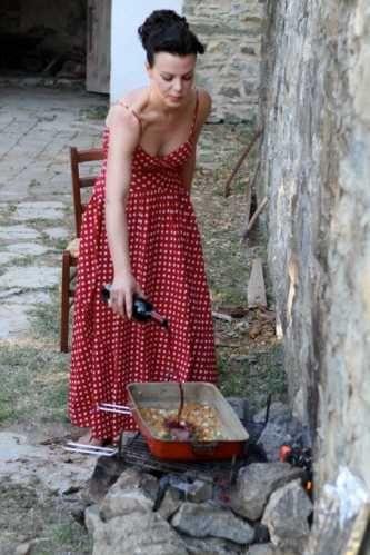 Debi Mazar Dress- Google Image Result for http://media.monstersandcritics.com/articles3/1669450/article_images/extra_chicken.jpg