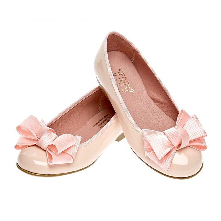 Туфли розовые лаковые для девочки