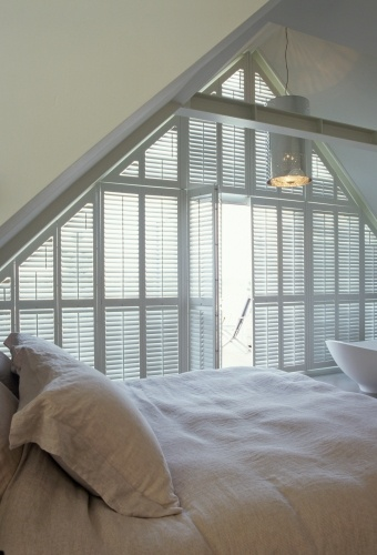 great bedroom - Jasno Shutters & Blinds